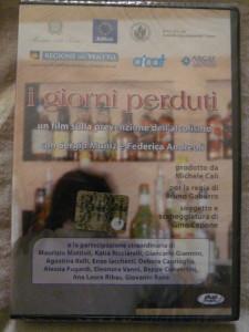 """Video CD """"I giorni perduti"""" Film sulla prevenzione dell'alcolismo"""