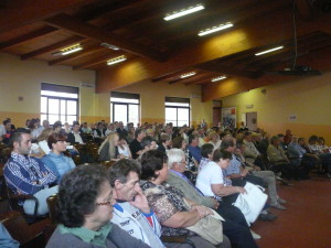Numeroso pubblico in Aula Magna