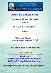 INTERCLUB ACAT Vr Sud MAG. 2016